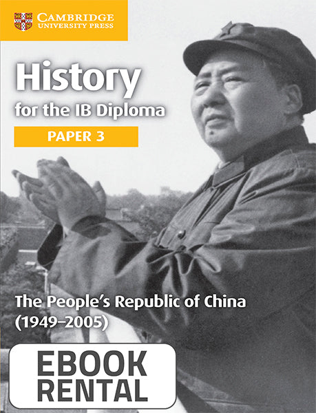 History for the IB Diploma Paper 3 The People's Republic of China (1949-2005)