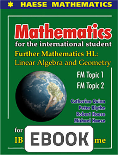 Further Mathematics HL: Linear Algebra & Geometry Digital