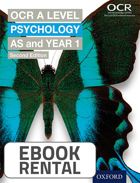 OCR A Level - Psychology AS and Year 1