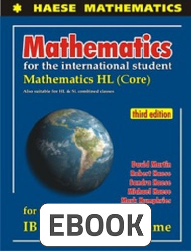 Mathematics HL Core 3rd ed Digital