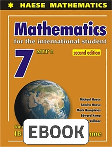 Mathematics for the International Student 7 MYP 2 Digital