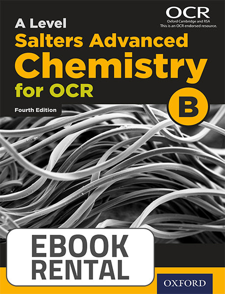 A Level Salters Advanced Chemistry for OCR B. Year 2