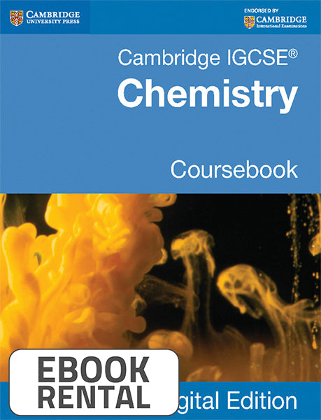 Cambridge IGCSE® Chemistry Coursebook