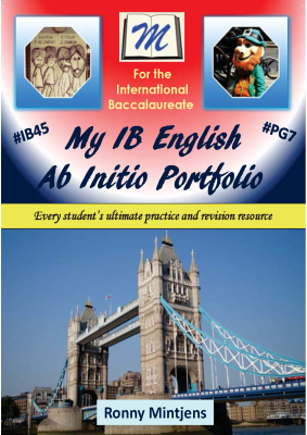 My IB English Ab Initio Portfolio, 1st Ed. <br> <small><small>by Ronny Mintjens</small></small>
