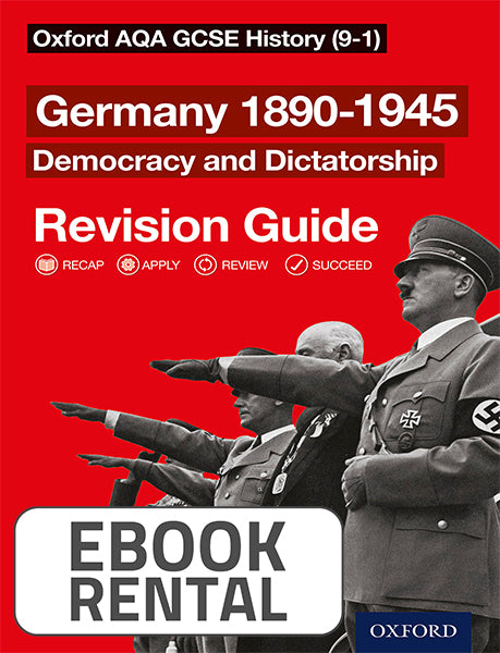 Oxford AQA GCSE History - Germany 1890-1945 Democracy and Dictatorship Revision Guide