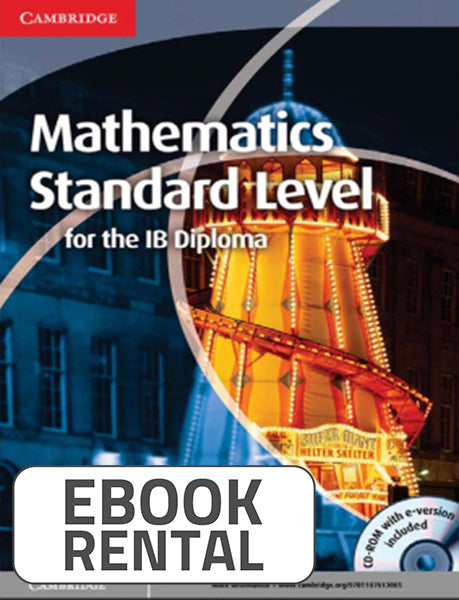 Mathematics Standard Level for the IB Diploma, 1st Ed. <br> <small><small>by Paul Fannon, Vesna Kadelburg, Ben Woolley, Stephen Ward</small></small>
