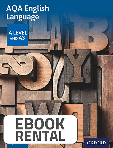 AQA English Language. A and AS Level Student Book