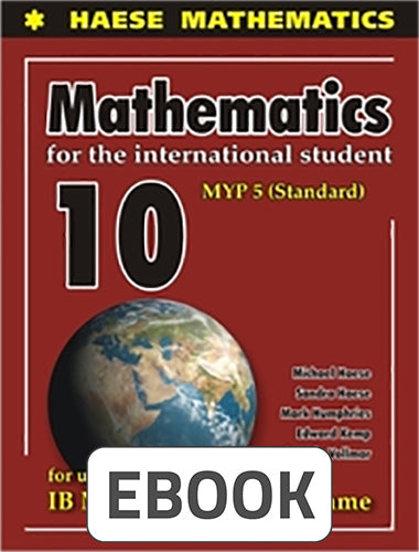 Mathematics for the International Student 10 Standard Digital