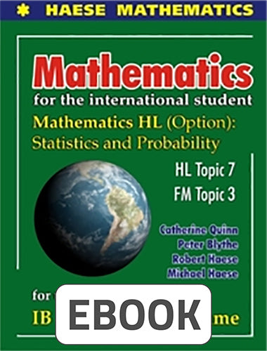 Mathematics HL Options: Statistics & Probability Digital