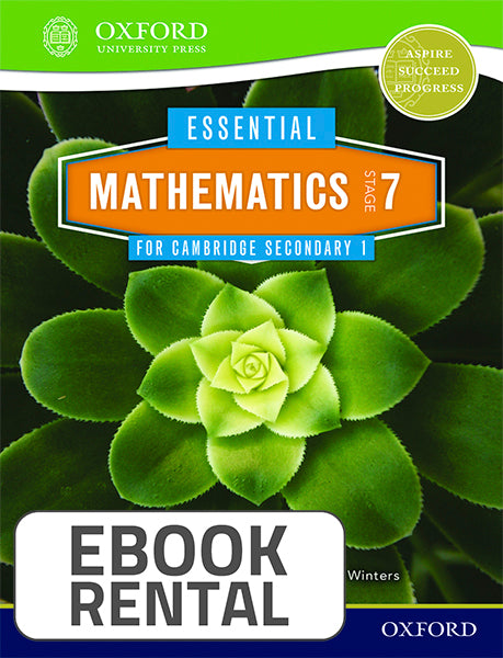 Essential Mathematics Stage 7 for Cambridge Secondary 1