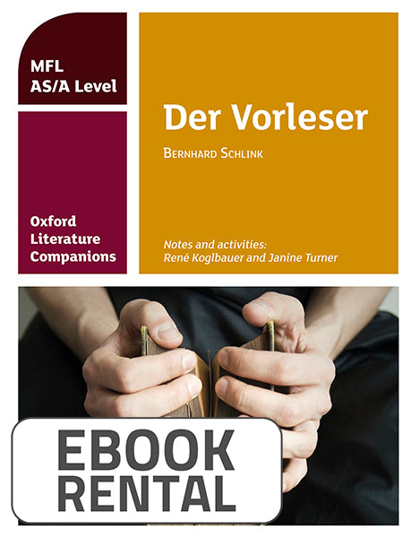 Oxford Literature Companions: Der Vorleser: study guide for AS/A Level