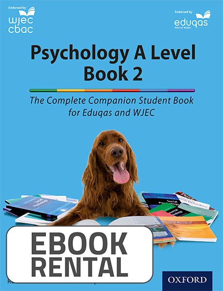 Psychology A Level Book 2. The Complete Companions Student Book for Eduqas and WJEC