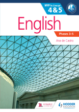English 4 and 5. MYP by Concept, 1st Ed. <br> <small><small>by Ana de Castro</small></small>