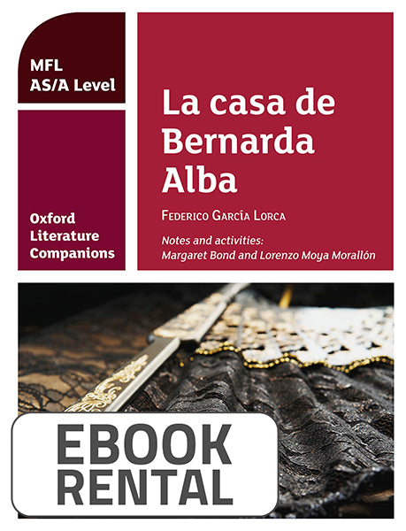 Oxford Literature Companions: La casa de Bernarda Alba: study guide for AS/A Level