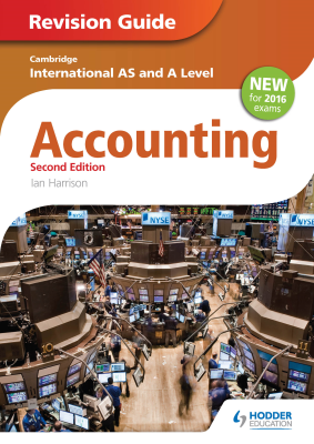 Accounting Revision Guide for Cambridge International AS and A Level, 2nd Ed. <br> <small><small>by Ian Harrison</small></small>