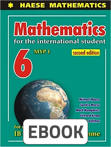 Mathematics for the International Student 6 MYP 1 Digital
