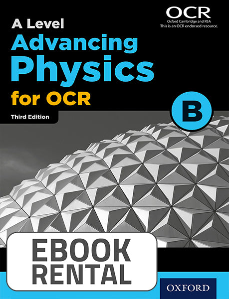 A Level Advancing Physics for OCR B. Year 1 and AS