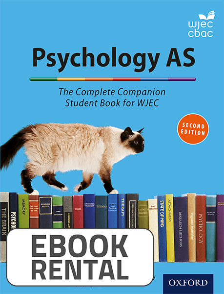 Psychology AS. The Complete Companion Student Book for WEJC