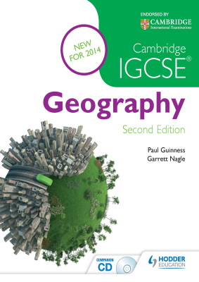 Geography for Cambridge IGCSE, 2nd Ed. <br> <small><small>by Paul Guinness, Garrett Nagle</small></small>