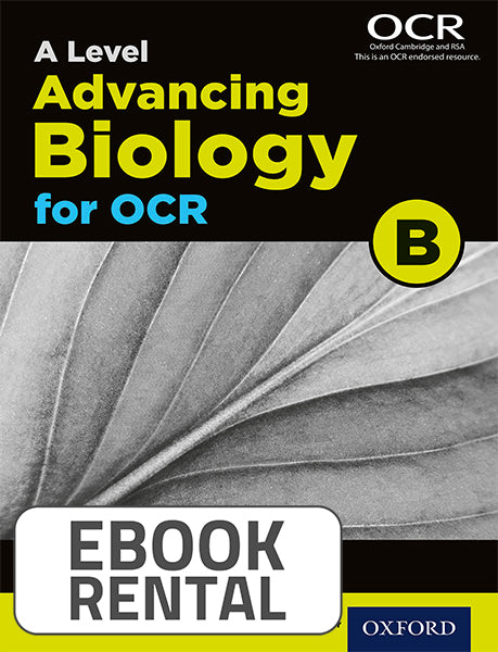 A Level Advancing Biology for OCR B. Year 2