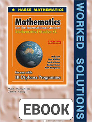 Mathematical Studies SL 3rd ed Worked Solution Digital