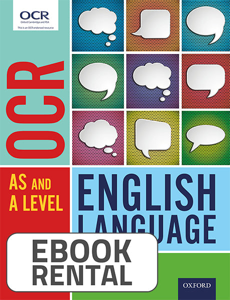 OCR AS and A Level - English Language