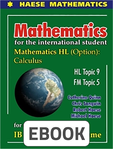 Mathematics HL Options: Calculus Digital