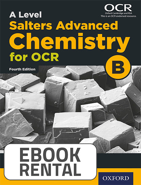 OCR A Level - Salters' Advanced Chemistry for OCR B. Year 1 and AS