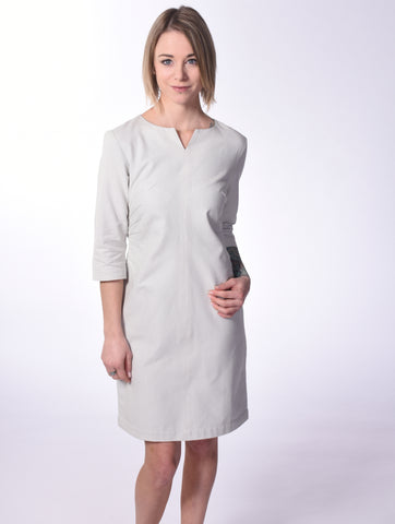 Longshirt Kleid in Peach