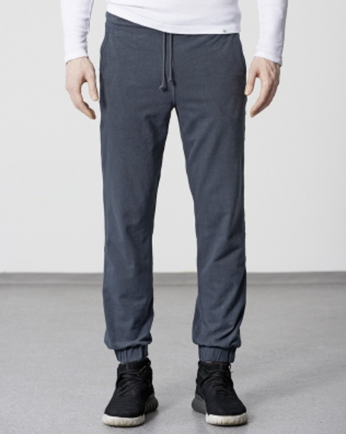 Organic Cotton & Hemp Blend Joggies in Navy Blue