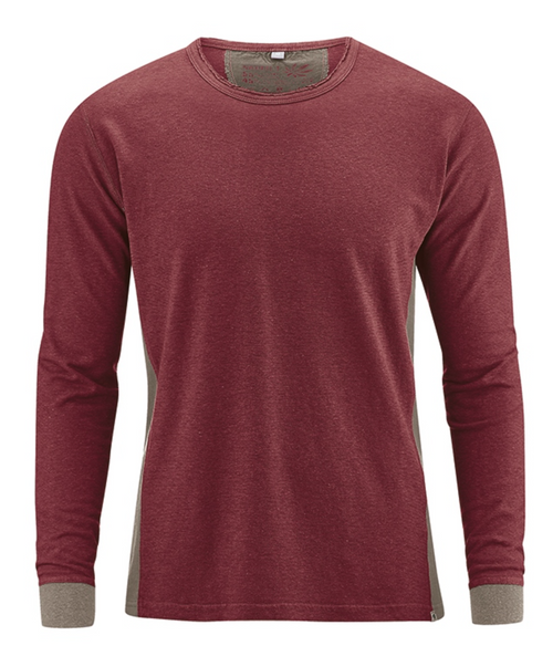 Mens Sweatshirt in Chestnut