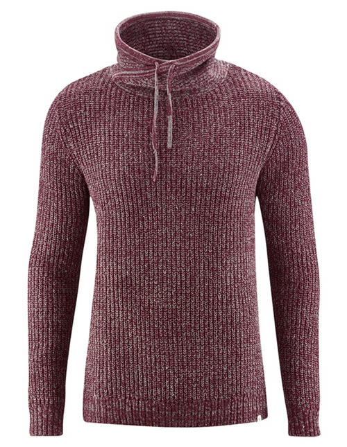 Mens Norwegian Turtleneck in Chestnut