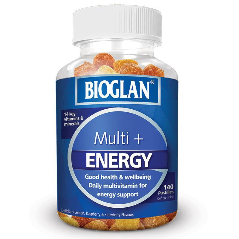 Bioglan Energy Multi Gummies 140 Pastilles