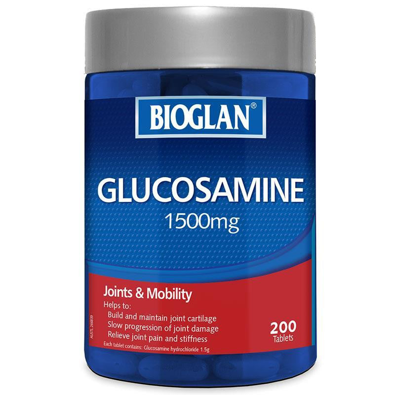 Bioglan Glucosamine 1500mg 200 tablets