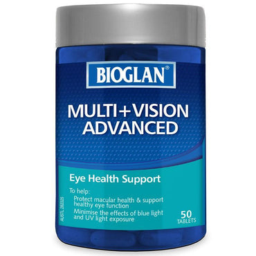 Bioglan Multi+Vision Advanced 50 Tablets