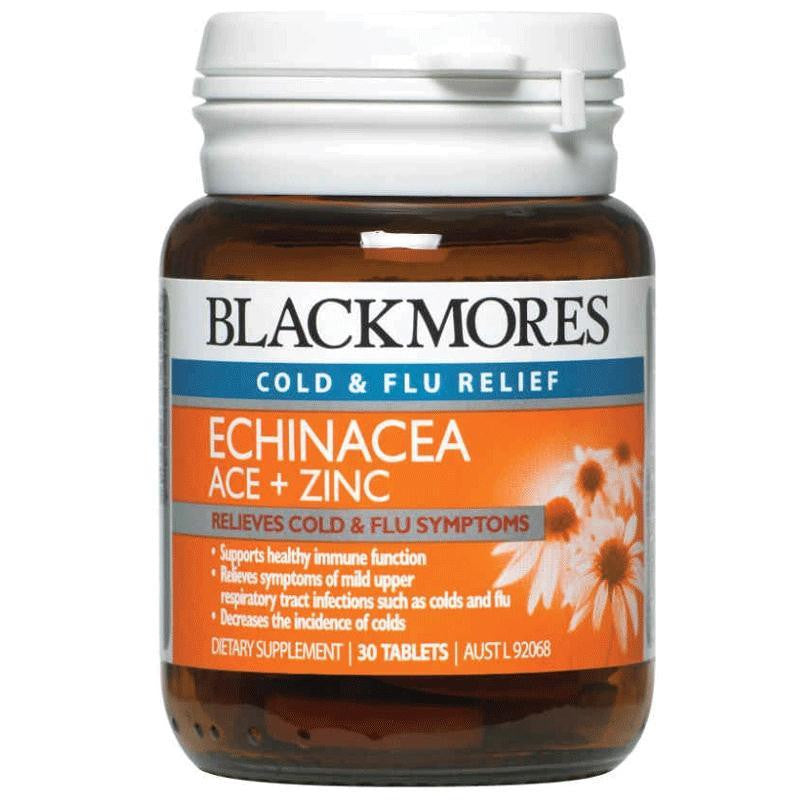 Blackmores Echinacea ACE + Zinc 30 Tablets