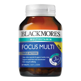 Blackmores Focus Multi 60 Tablets