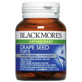 Blackmores Grape Seed Forte 12000mg 30 Tablets