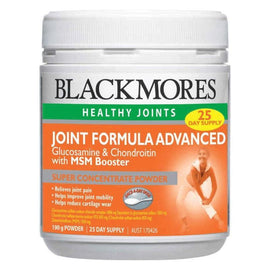 Blackmores Joint Formula Advanced + MSM Booster Powder 190g