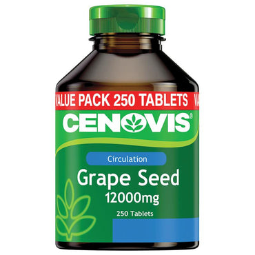 Cenovis Grape Seed 12000mg 250 Tablets