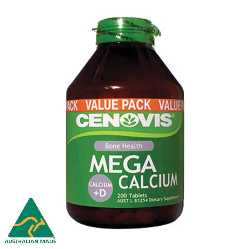 Cenovis Mega Calcium 200 Tablets
