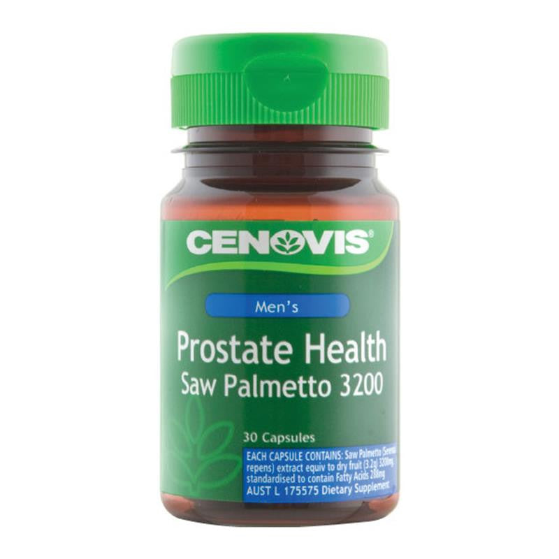Cenovis Prostate Health Saw Palmetto 3200mg 30 Capsules