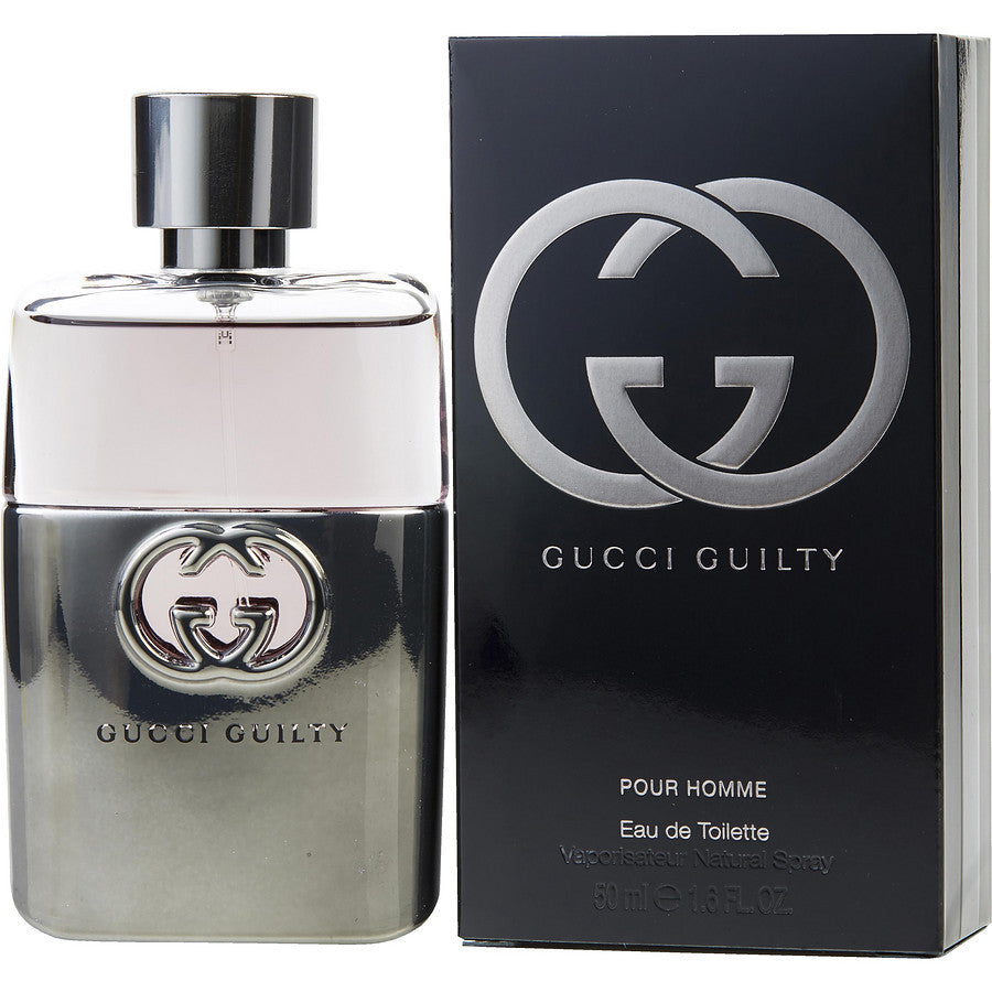 Gucci Guilty For Men Pour Homme Eau de Toilette Spray 50mL