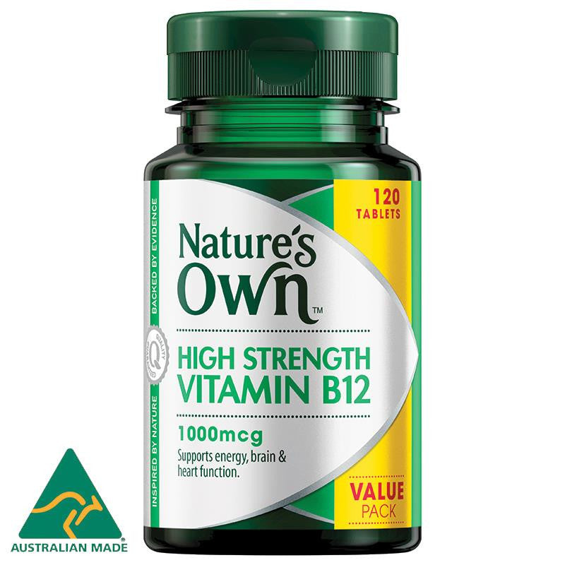 Nature's Own B12 1000mcg 120 Tablets