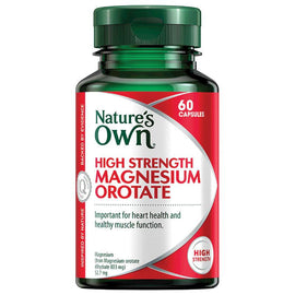 Nature's Own High Strength Magnesium Orotate 60 Capsules