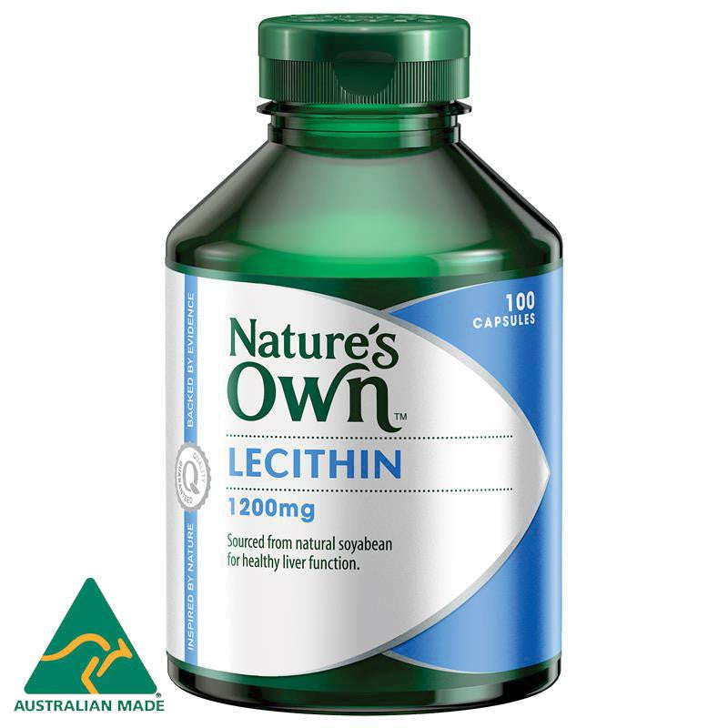 Nature's Own Lecithin 1200mg 100 Capsules