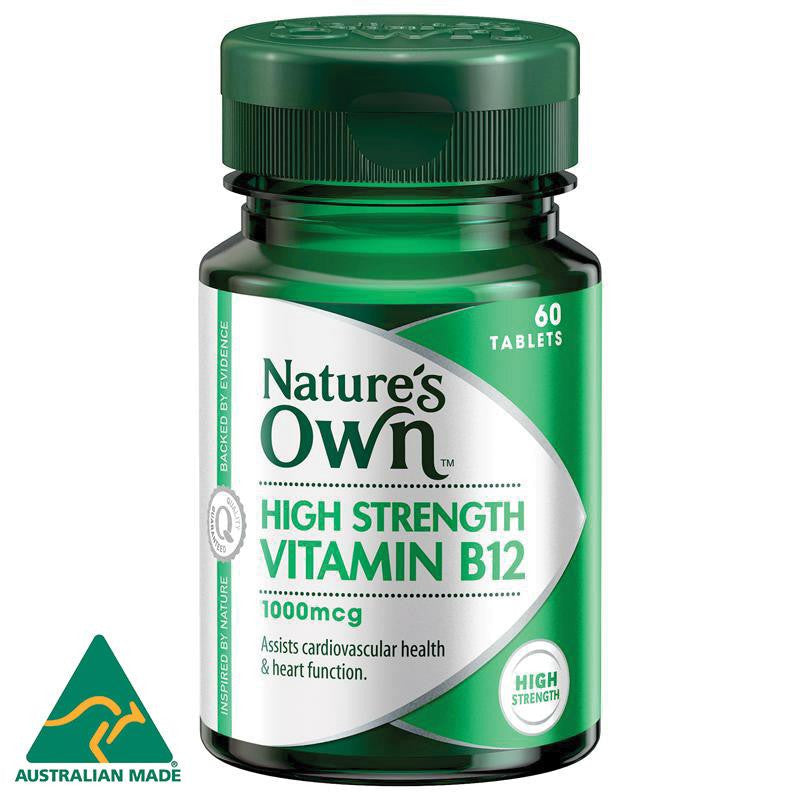 Nature's Own B12 1000mcg 60 Tablets