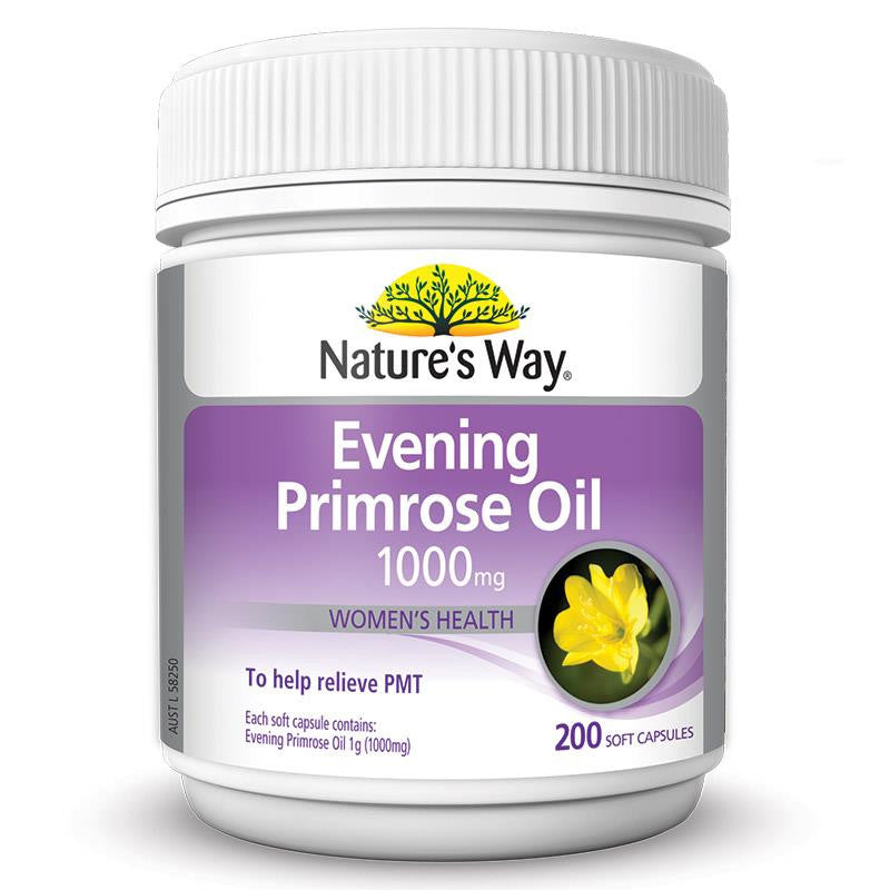 Nature's Way Evening Primrose Oil 200 Capsules