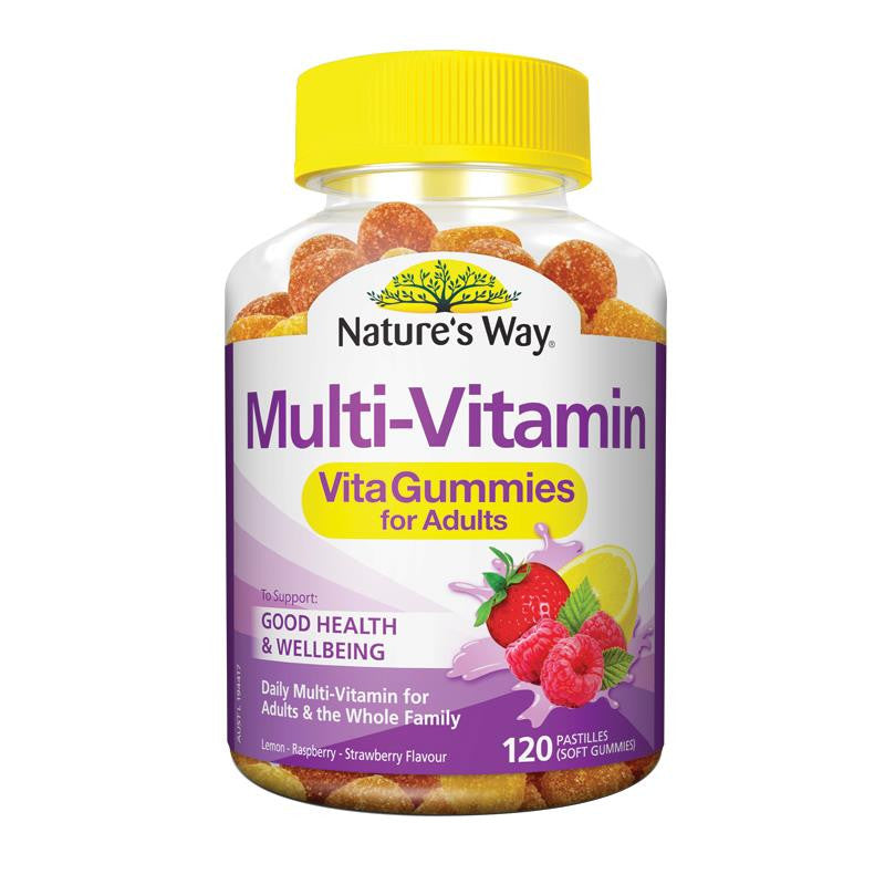 Nature's Way Vita Gummies Daily Multi Vitamin For Adults 120 Pastilles