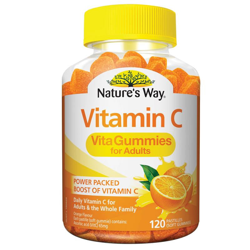 Nature's Way Vita Gummies Vitamin C For Adults 120 Pastilles